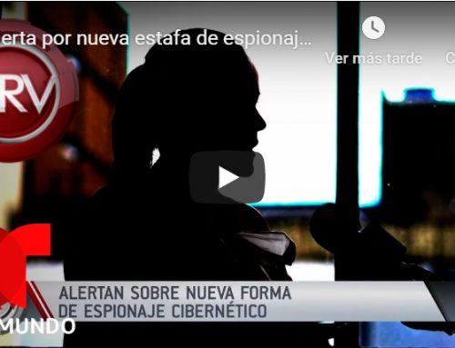 Alerta por nueva estafa de espionaje cibernético | Al Rojo Vivo | Telemundo
